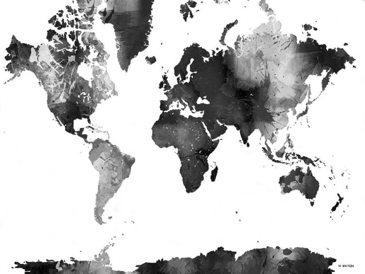world-map-in-black-and-white-marlene-watson